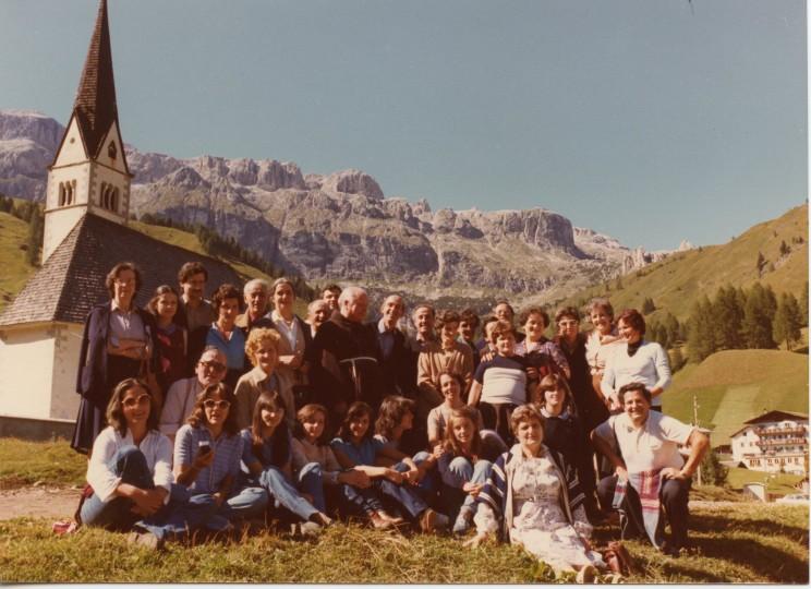 Gita Dolomiti 1978